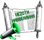 5-11 Vezóth habberákha hetiszakasz felolvasva, audió