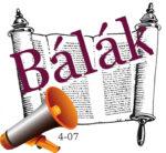 Bálák hetiszakasz felolvasva magyarul, audio