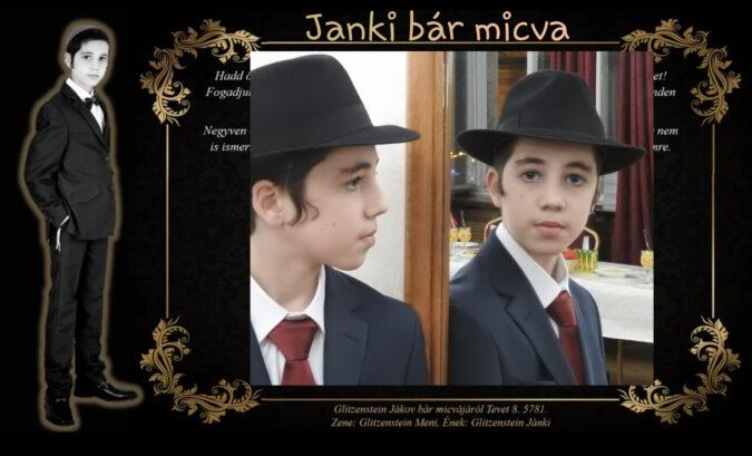 Janki, Glitzeinstein Jákov bár micva