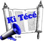 Ki Técé hetiszakasz felolvasva