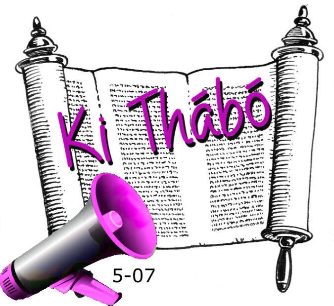 5-07 Ki Thábó hetiszakasz felolvasva, audióf