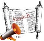Korách hetiszakasz felolvasva magyarul audio