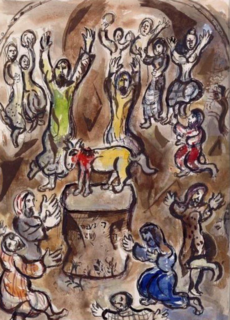Aranyborjú, Marc Chagall
