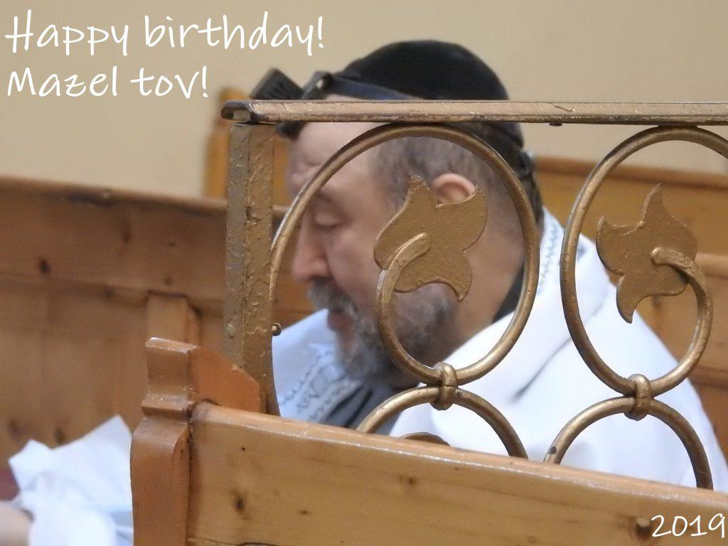 Happy birthday, Moise!