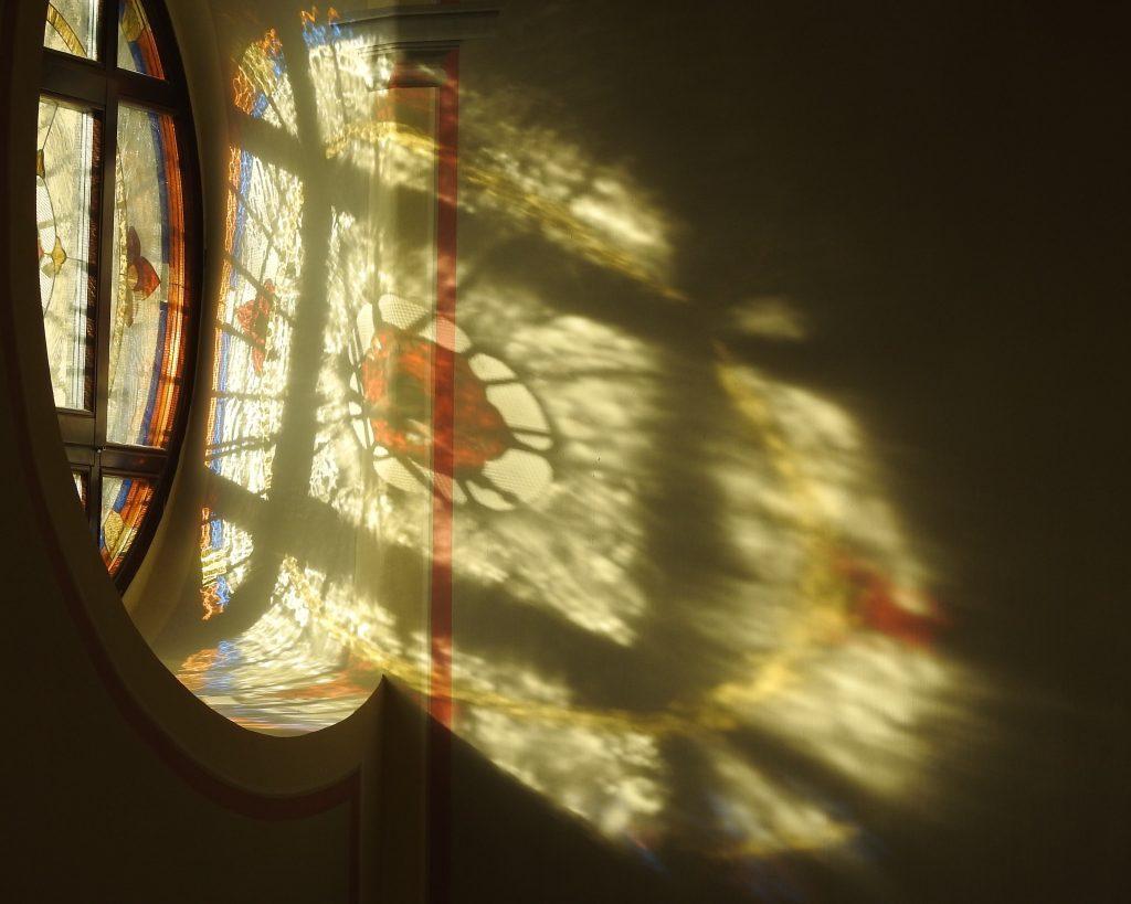 Fények az Óbudai zsinagógában