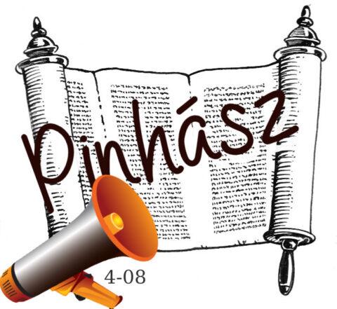 Pinhász hetiszakasz feolvasva magyarul, audio
