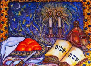 Shabbat shalom! Sábát sálom!