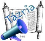 Tázriá hetiszakasz felolvasva magyarul audió
