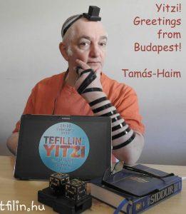 Tefillin for Yitzi!