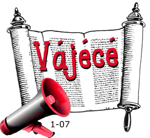 1-07 Vájécé hetiszakasz felolvasva