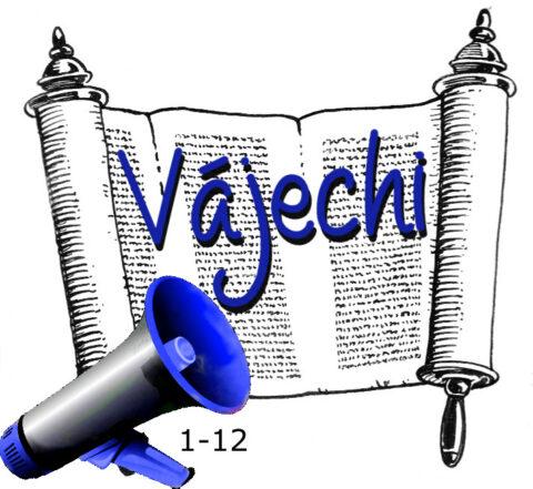 1-12 Vájechi hetiszakasz felolvasva