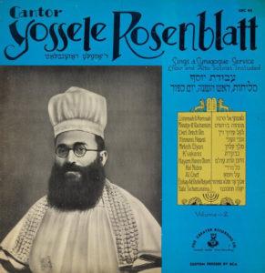 Yossele Rosenblatt, zeneszerző, kántor