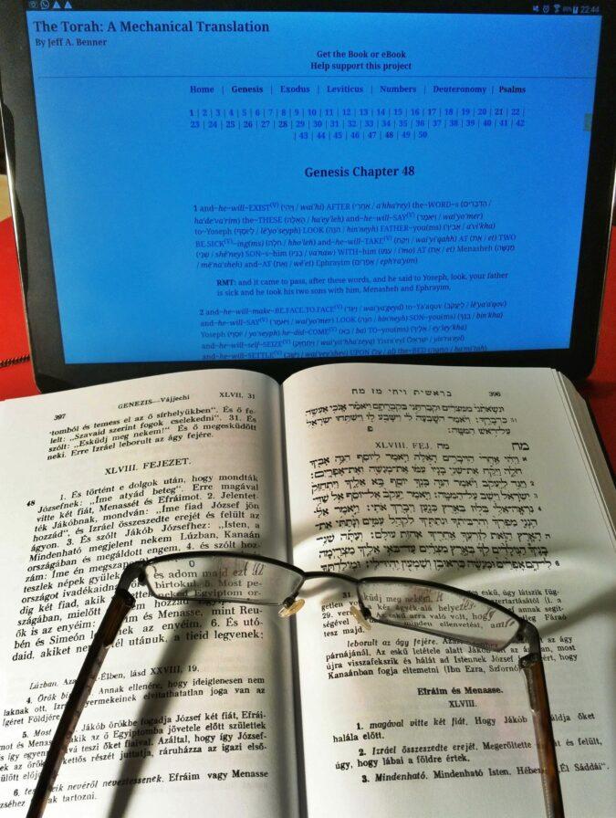 Tórai héber szavak tanulása