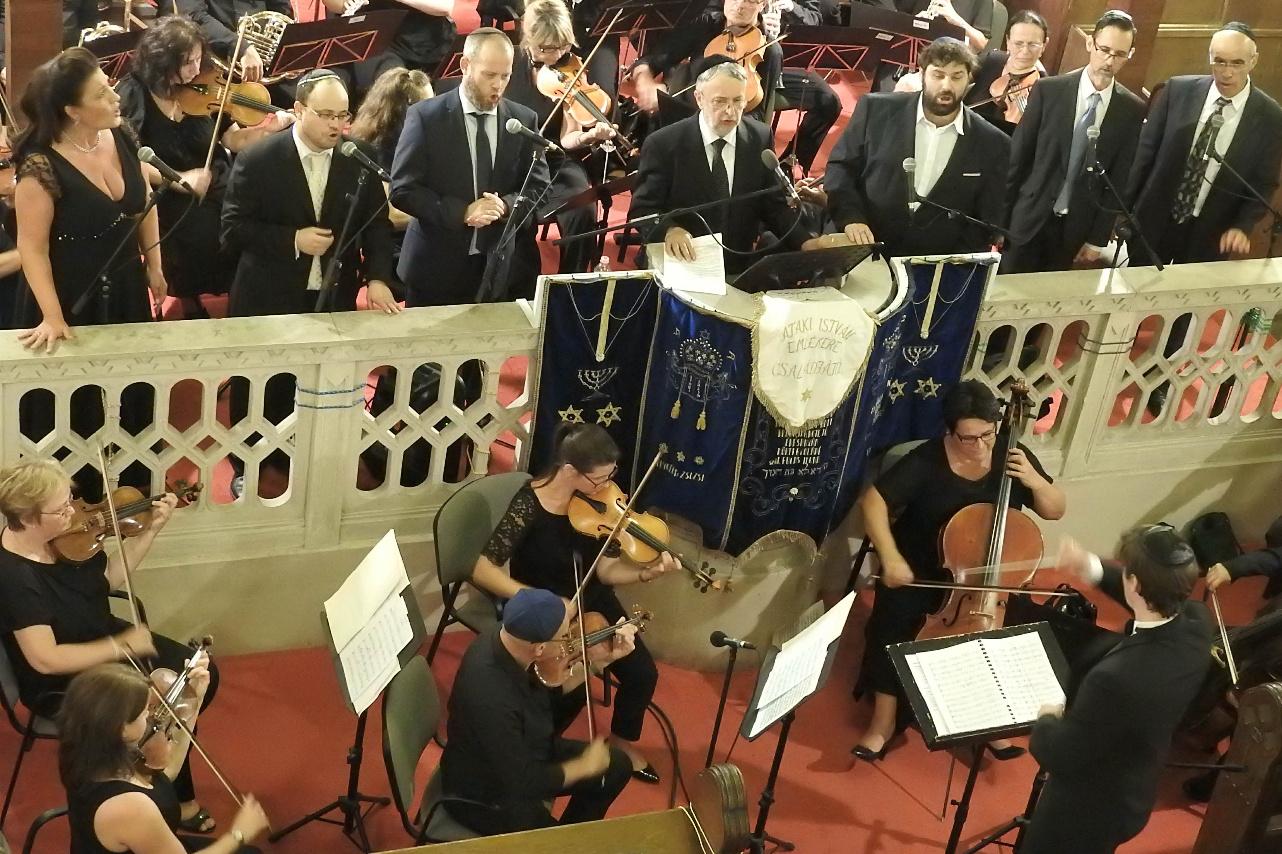 Kántor koncert, 2019, Újpesti zsinagóga