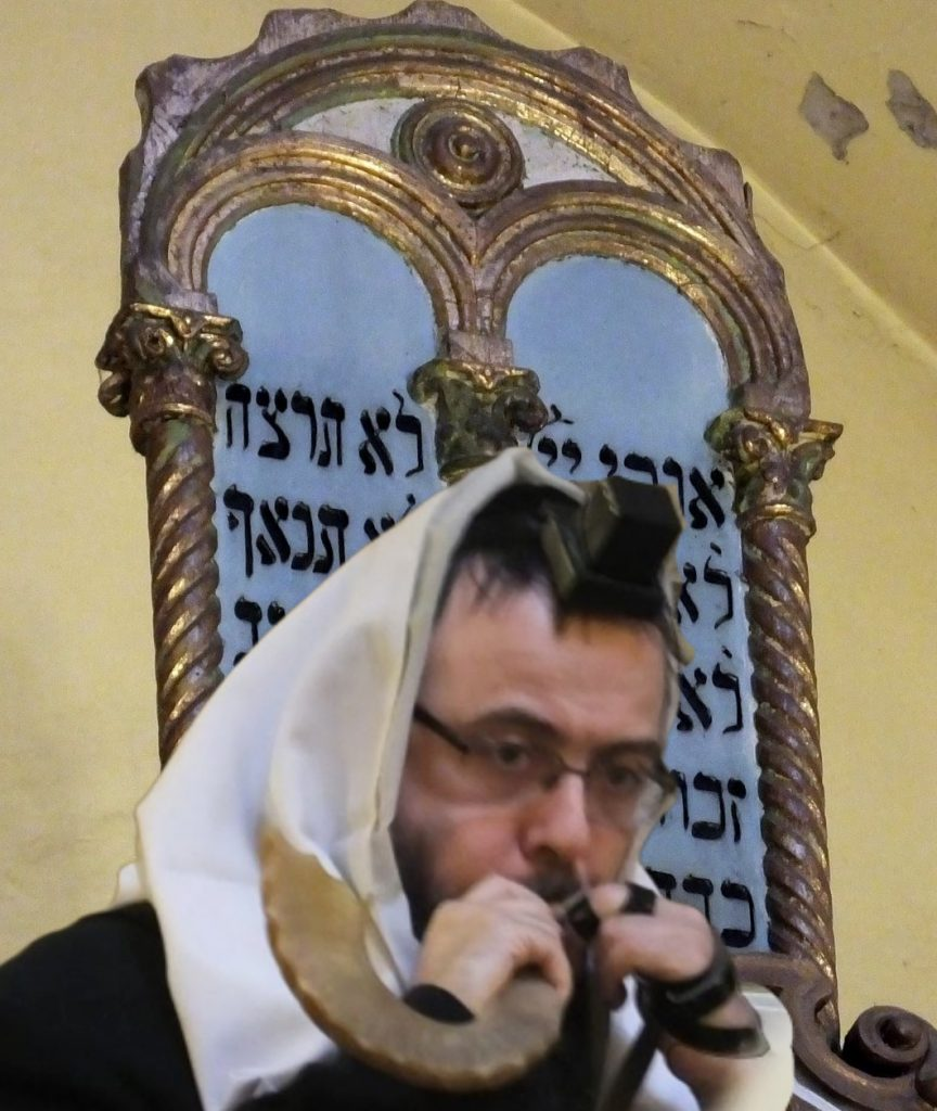 Sófár fújás, Oberlander Báruch rabbi